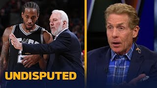 Skip and Shannon on reports Gregg Popovich met with Kawhi in Los Angeles | NBA | UNDISPUTED