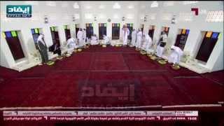 زيارة مفاجئة لامير الرياض والامير عبدالله بن مساعد لاستديو قناة الكاس في الرياض