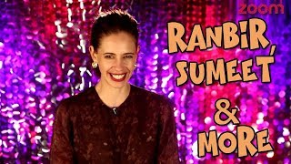 Kalki Koechlin On Ranbir Kapoor, Sumeet Vyas & More | Diwali Beats