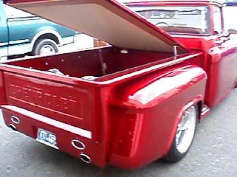 1956 Chevy pickup custom Rods R Us