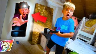 Exploring A Secret Room In Our Attic! (WHAT