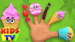 Food Finger Family | Nursery Rhymes For Kids | kids tv songs | daddy finger