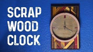Scrap Wood Clock