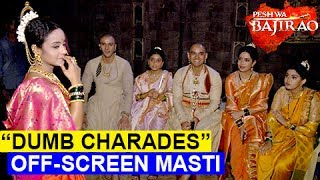 Peshwa Bajirao Starcast Play 'DUMB CHARADES' | Off Screen Masti | EXCLUSIVE