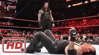 WWE Roman Reigns vs Undertaker Full Match HD 2017 - Wrestlemania 33