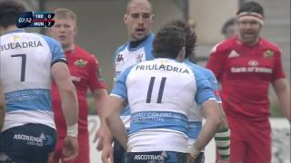 European Rugby Champions Cup 2015 - 2016. Benetton Treviso - Munster 24.01.16