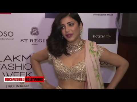 Xxx Mp4 Shruti Hassan Too Hot To Handle Lakme Fashion Week 2018 3gp Sex
