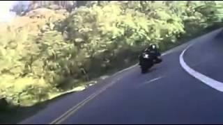 LIVE TO RIDE into a car [MOTO CRASH]