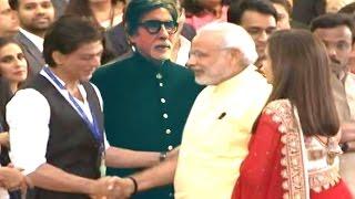 Shahrukh Khan, Amitabh Bachchan meets Narendra Modi   Bollywood Celebs with Narendra Modi