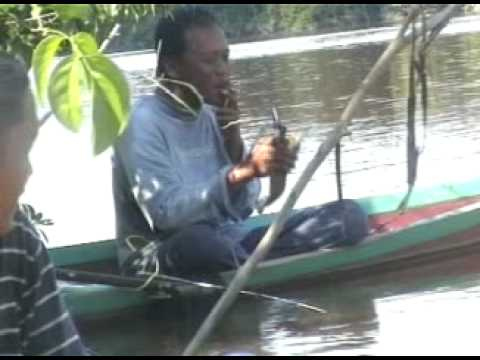 Mancing udang galah di sungai X WEST BORNEO mggu 24 mei 2009 budak pontianak yg mncintai hobinya