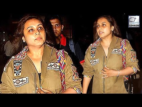 Xxx Mp4 Rani Mukerji Looks MISERABLE After Pregnancy LehrenTV 3gp Sex