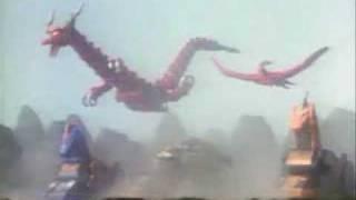 Power Rangers vs Cage Master (unused footage #2)
