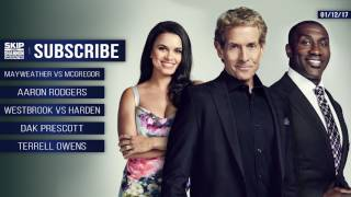 UNDISPUTED Audio Podcast (1.12.17) with Skip Bayless, Shannon Sharpe, Joy Taylor | UNDISPUTED