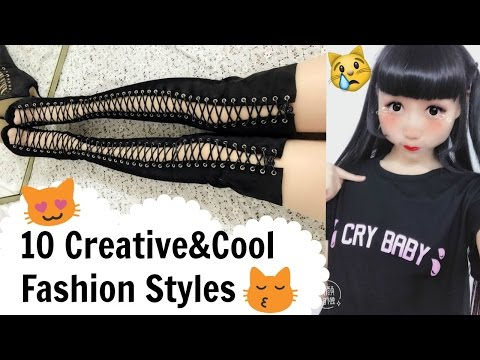10 Creative&Cool Fashion Designs/Styles