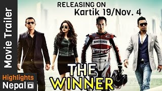 THE WINNER Nepali Movie Official Trailer 2016 Ft. Malina Joshi, Mahesh Shrestha, Manchin Shakya 4K