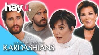 Kris & Scott's Best Moments   Keeping Up With The Kardashians
