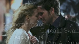All moments of Captain Swan in season 4 of Once Upon A Time