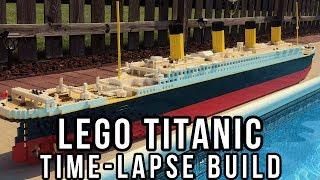 LEGO Titanic Construction Time-Lapse【7' model】
