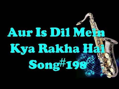 182 Aur Iss Dil Mein Kya Rakha Hai Imaandaar Best Saxophone Instrumental HD Quality