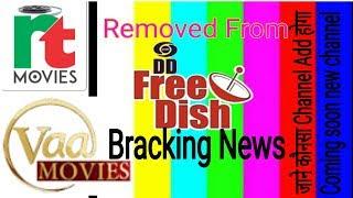 DD free Dish Bracking News