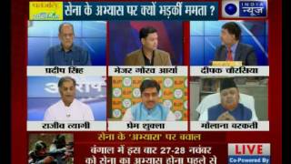 Tonight with Deepak Chaurasia: Is army being dragged into dirty politics?