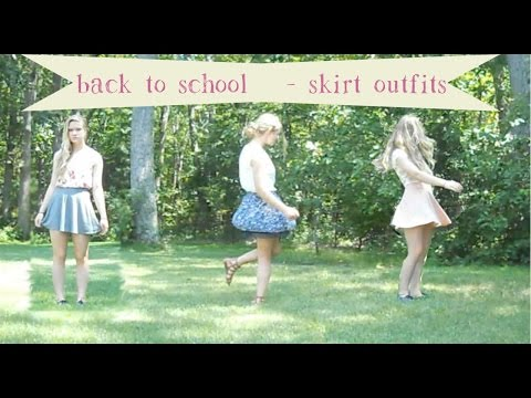 Back to School Skirt Outfits!
