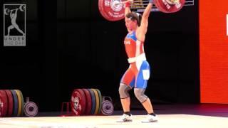 WWC 2015: Women's 58kg highlights