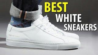 BEST WHITE SNEAKERS 2018 | MEN'S SUMMER SHOES | Alex Costa