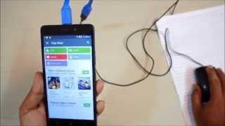 Lenovo K3 Note - How to Connect USB Drive. OTG Support TUTORIAL