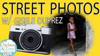 STREET PHOTOS with Gisele Duprez (TC LIVE)