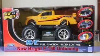 Remote Control Car Unboxing: New Bright RC Ford F-150