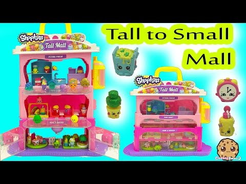 Xxx Mp4 Shopkins Tall Mall Playset From Big To Small With Season 5 Shopkins Exclusives 3gp Sex