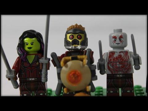 LEGO Guardians of the Galaxy Milano Spaceship Rescue Set Review! (76021)