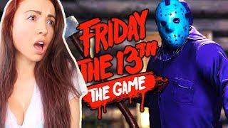 FRIDAY THE 13th GAME - NEW RETRO JASON!!