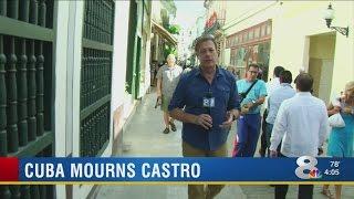 Cubans mourn Castro after longtime leader's death