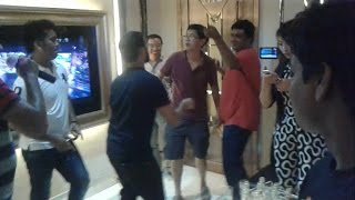 Bangle Dance with Chinese Chemist, Singer & Teacher in Theme Parks KTV 2, Kunming