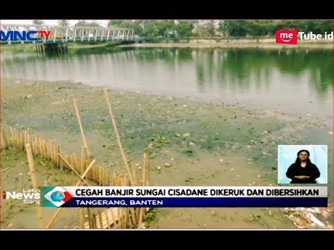 Cegah Banjir, Pemkot Tangerang Normalisasi Sungai Cisadane - LIS 1810