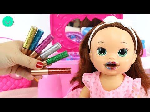 Xxx Mp4 🌈Arcoíris De 10 Pintalabios Purpurina Para SARA Baby Alive Muñeca Viste De Princesa 3gp Sex