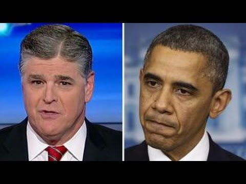 Hannity Obama came in a crybaby and is leaving a crybaby