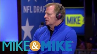 Roger Goodell Concerned About Negative Impact Of Marijuana   Mike And Mike   ESPN