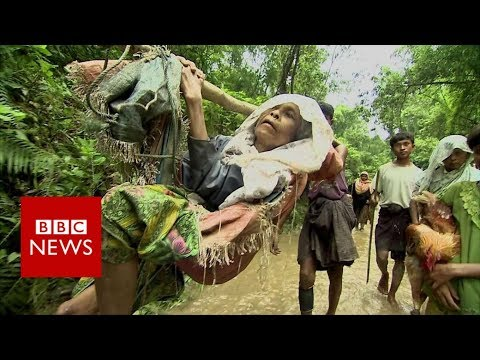 Xxx Mp4 In The Jungle With Rohingya Refugees Feeling Myanmar BBC News 3gp Sex