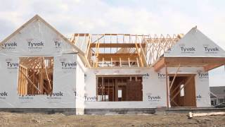 Home Construction Time Lapse with Mallard's Edge
