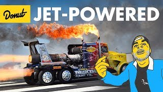 TOP 10 Jet-Powered Cars   The Bestest