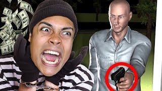 he came BACK HOME when STEALING FROM HIS HOUSE !!! (Sneak Thief)