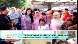 Christian Sugiono dan Titi Kamal Mudik Ke Jerman - Seleb On News (23/7)