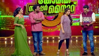 Comedy Super Nite - 3 with Vishnu & Niranjana│Flowers│Ep# 35