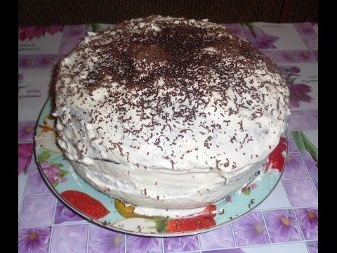 Торт во много коржей с фото