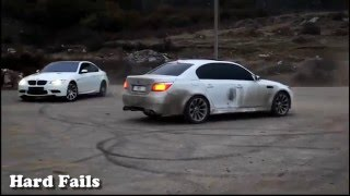 Burnout BMW M3 M5 drift street crazy insane donuts