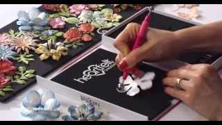 DIY Tutorial: How to Create Paper Flowers - Deluxe Flower Shaping Crafting Kit
