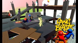 GANG BEASTS ONLINE - New Costumes. New Level. [UPDATE]